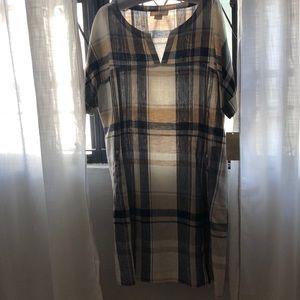 Beautiful 100% linen Dress